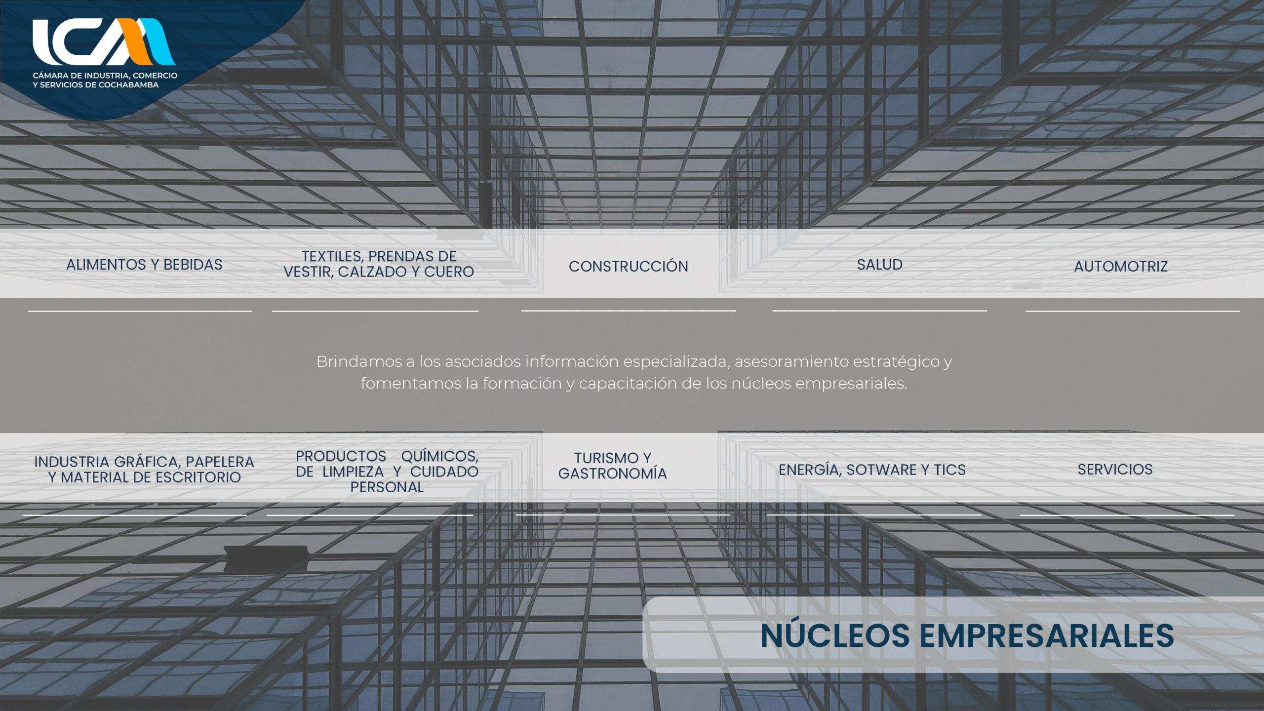 NUCLEOS EMPRESARIALES